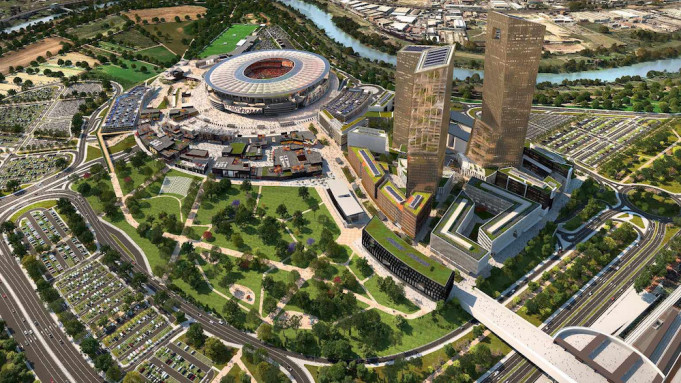 Stadio della Roma new project
