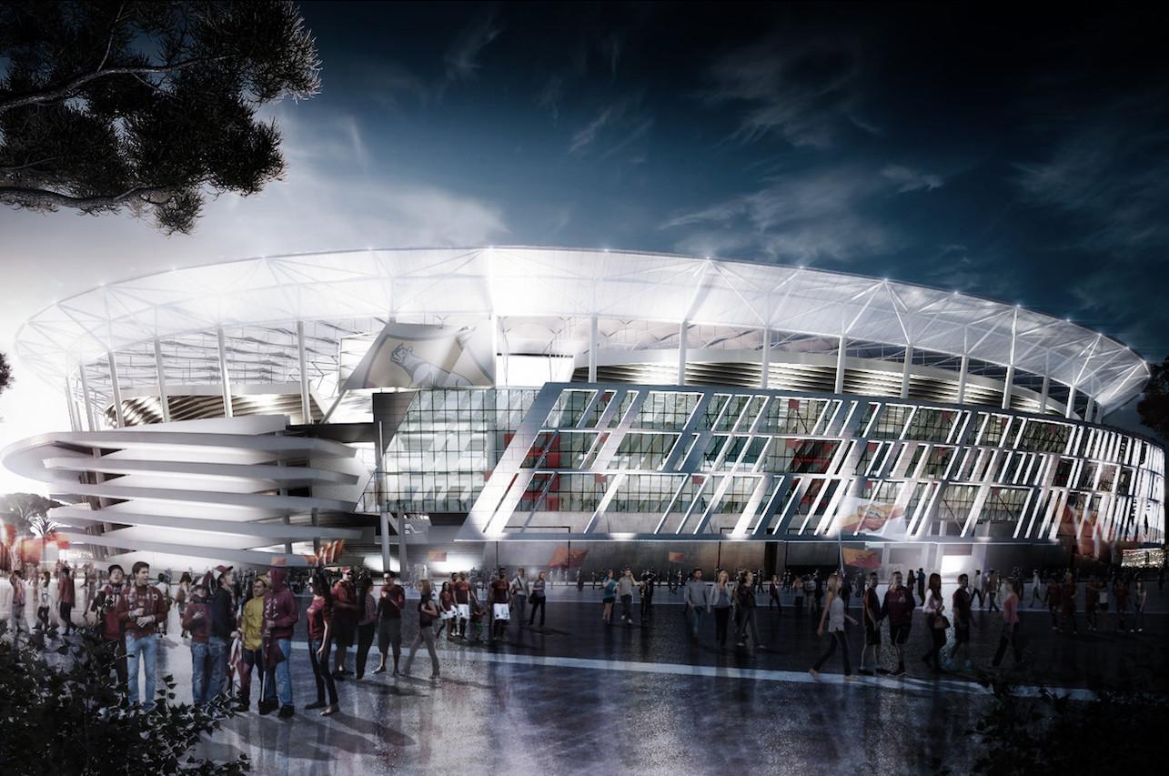 stadi Roma progetti ristrutturazioni sponsor
