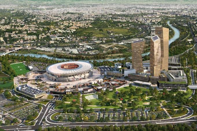 nuovo stadio roma frongia