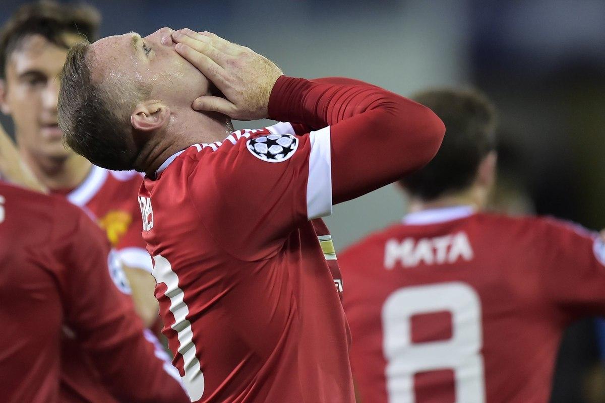 Wayne Rooney Manchester United (Insidefoto.com)