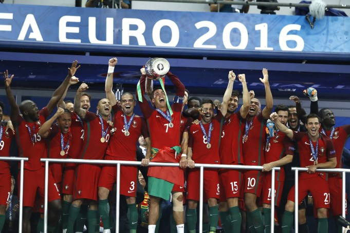 Portogallo European Champion 2016 (Insidefoto.com)