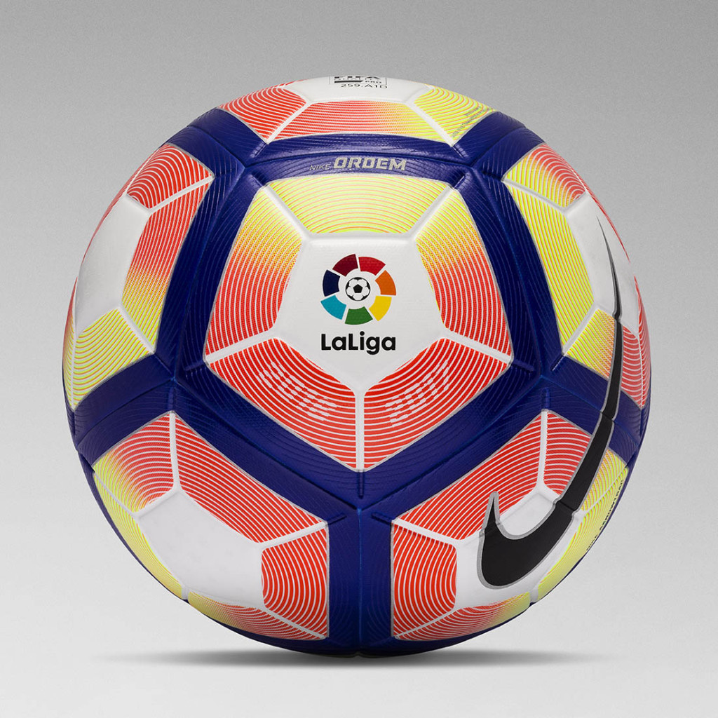 The new ball 2016-2017 Spanish Liga
