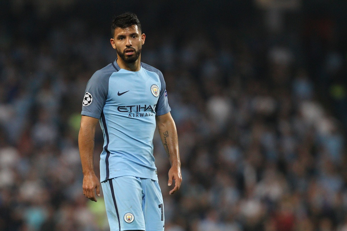 Sergio Aguero of Manchester City   Manchster  Champions League  Foto Phcimages / Panoramic / Insidefoto