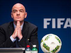 Gianni Infantino FIFA president (Insidefoto)