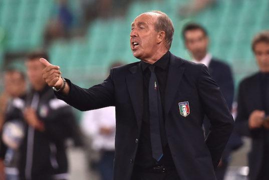 Gian Piero Ventura Italy coach Football Friendly Match Italy - France Photo: Andrea Staccioli / Insidefoto