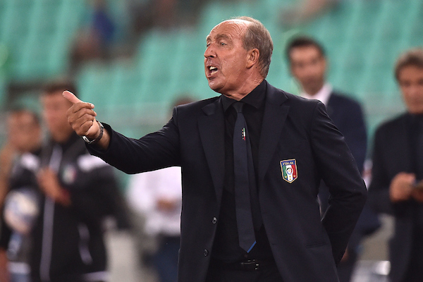 Gian Piero Ventura Italy coach Football Friendly Match Italy - France Photo: Andrea Staccioli / Insidefoto