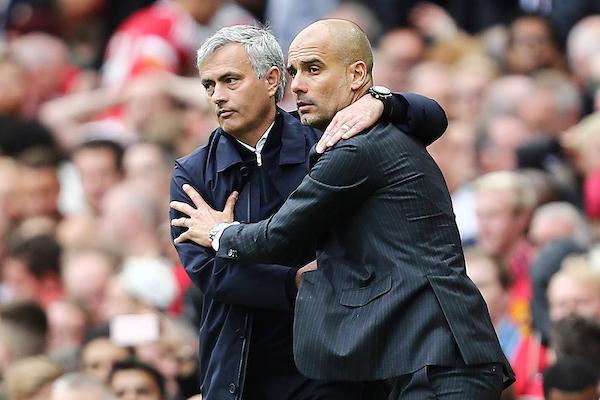 Josè Mourinho and Pep Guardiola (Insidefoto)