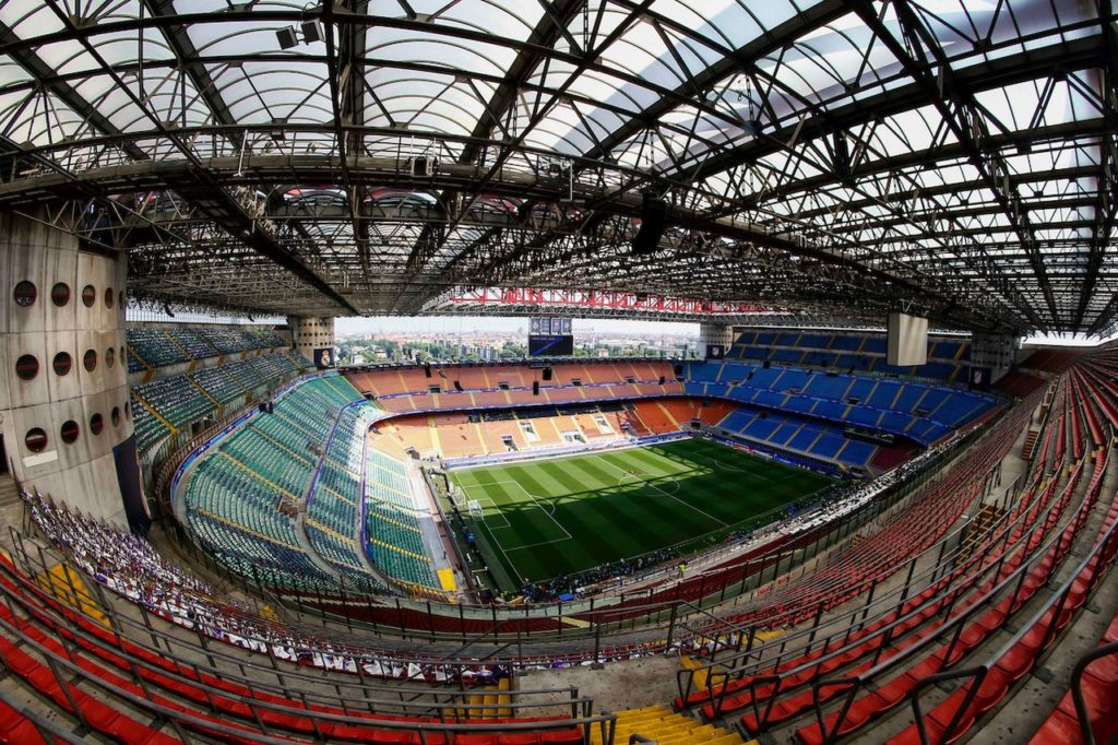 Overview of San Siro stadium (Insidefoto.com)