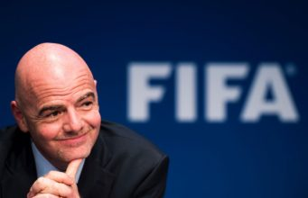 FIFA President Gianni Infantino (SUI) Photo: Urs Lindt/freshfocus/Insidefoto