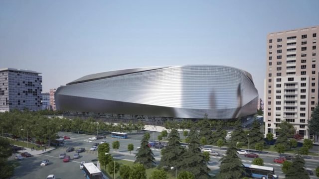 New Real Madrid stadium