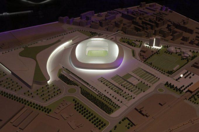 New Fiorentina stadium