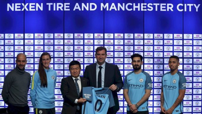 Man City Nexen Tire