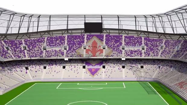 Fiorentina reveal new 40,000 seat stadium will be ready by
