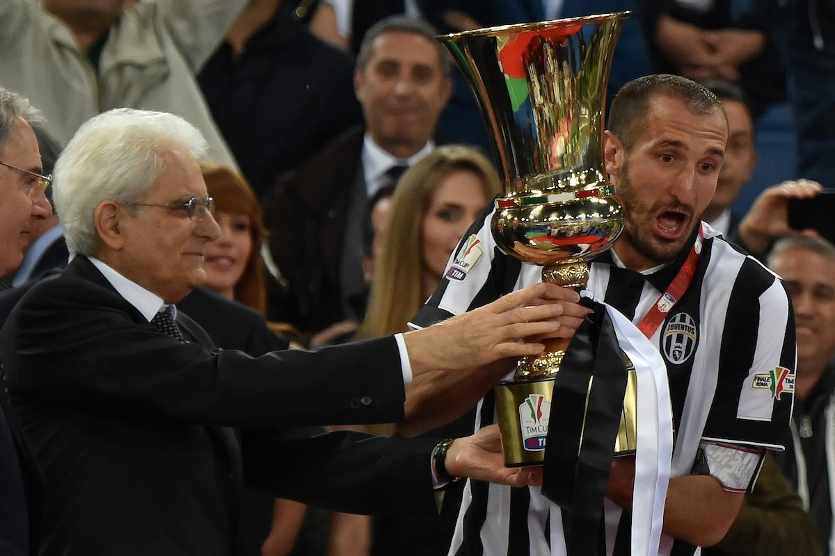 The Coppa Italia final has been played in a one-off game in Rome's Stadio Olimpico since 2007/08 (Insidefoto.com)