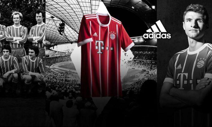 Bayern Munich kit 2017-2018