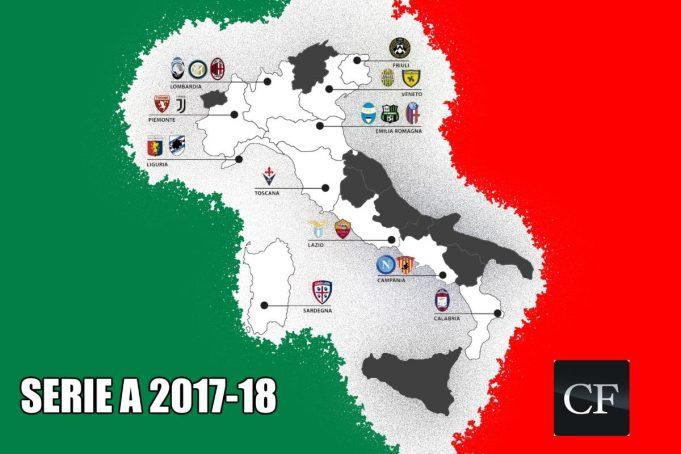 Juventus Italy Map.Juventus Milan Make Top 20 In Digital Football Ranking Calcio E