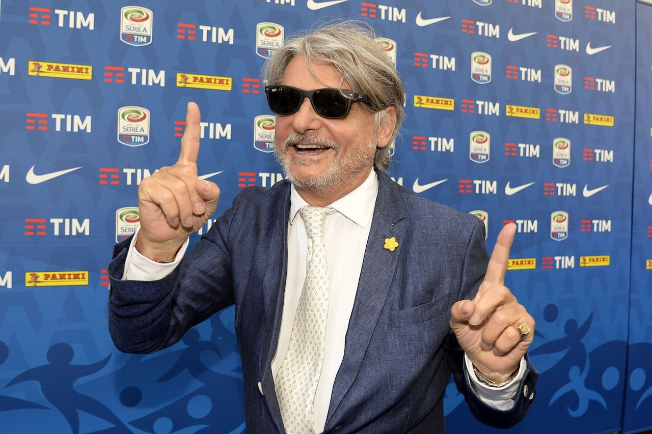 Photo Daniele Buffa/Image Sport/Insidefoto In the photo: Massimo Ferrero