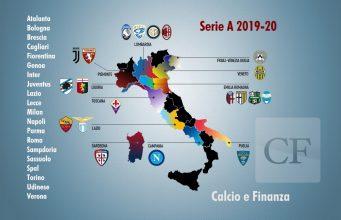 Serie A Regions 2019-20